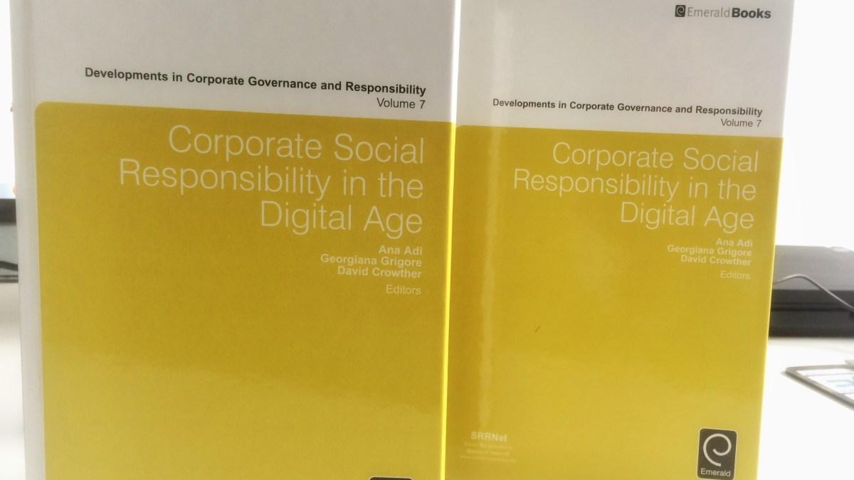 New publication: CSR in the Digital Age