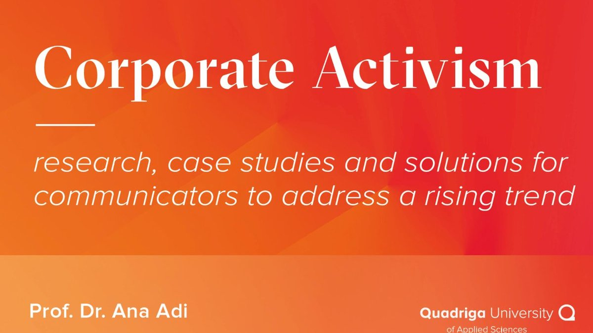 Corporate activism book (free download)