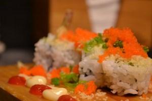 Crunchy Shrimp Sushi Roll by Anaba Japanese