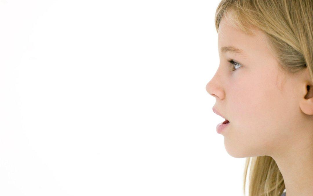 Síndrome del respirador oral, ¿está relacionada la forma de respirar con el desarrollo del habla?