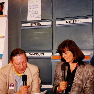 Interviu la Targul de Carte din Geneva 1990