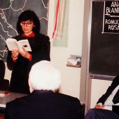 Lectura publica la Universitatea din Heidelberg alaturi de Klaus Heitmann