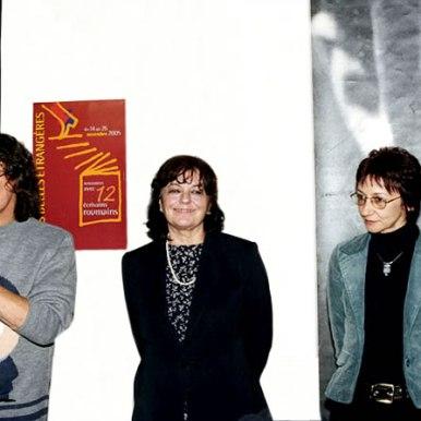 Les belles etrangeres (Paris, 2004) cu Marta Petreu