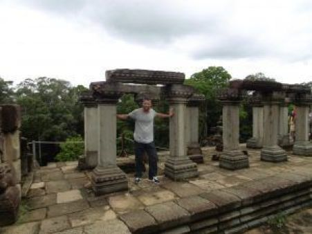 Columnas Templo Baphuon