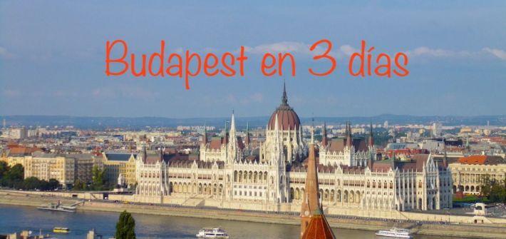 Budapest en 3 días