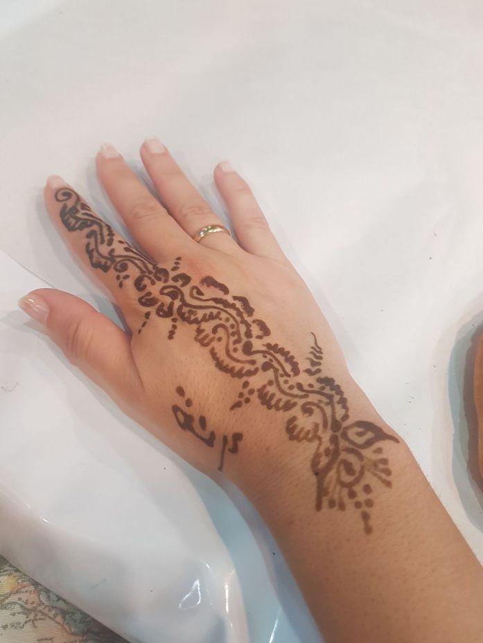 Típico tatto henna