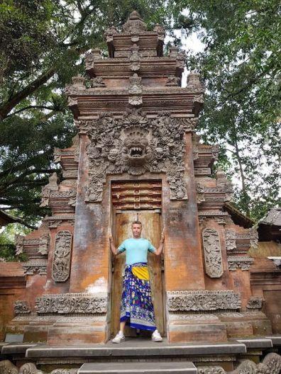 Puerta en el templo