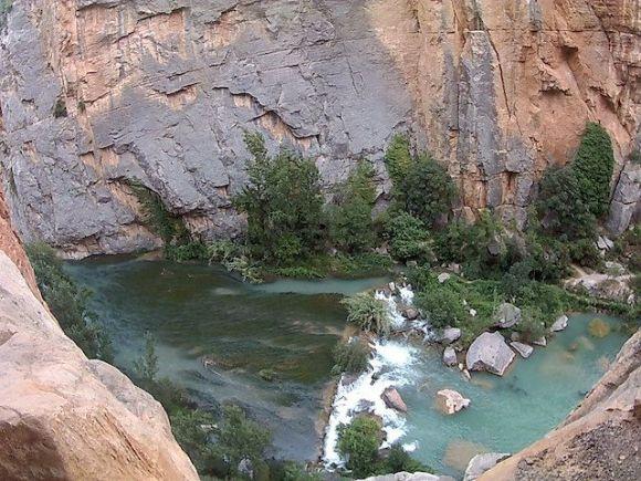 Montanejos. Río Mijares