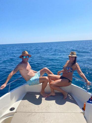 Barco alquilado