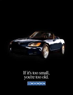 Ad Concepts and Design: Honda