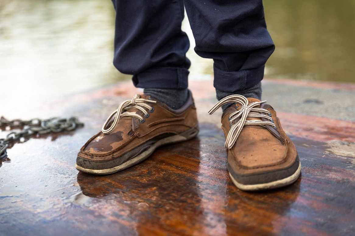 Punting boat shoes