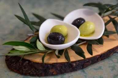 Disfrutar's signature olives