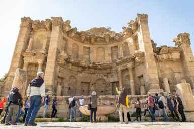 Abraham Tours at Jerash, Jordan