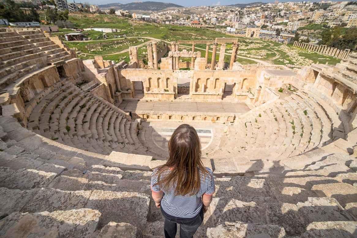North Theatre, Jerash, Jordan