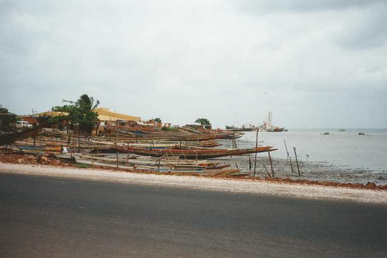 Beach in the Gambia 1994