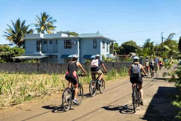 Electric bike tour in Mauritius