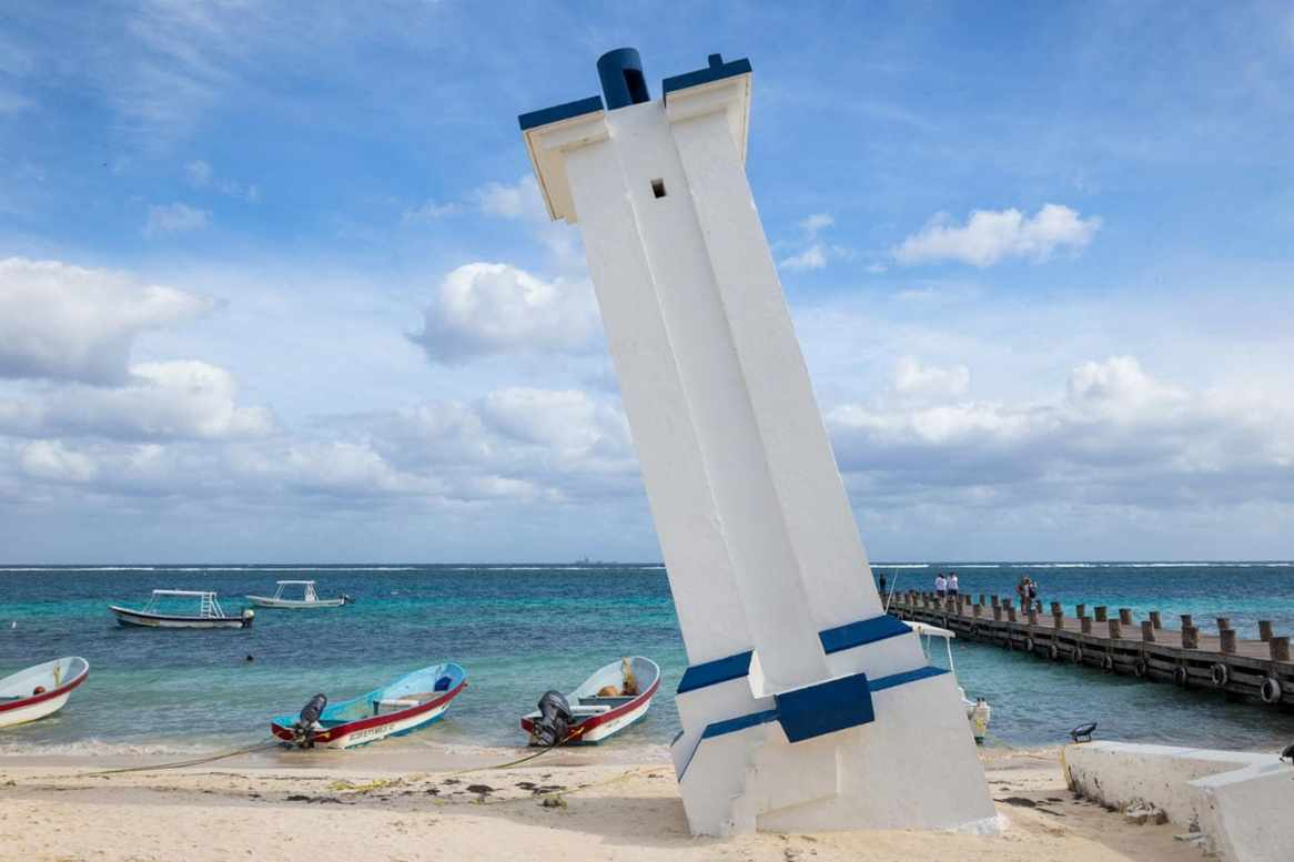 Lighthouse at Puero Morelos
