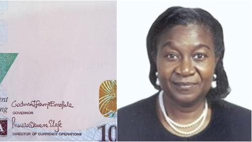 First Female Signature To Appear On The Naira