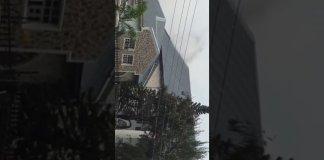 Davido's Father video fire house lekki video