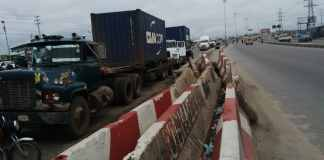 Truck kills one, injures two on Lagos-Abeokuta expressway