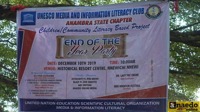 media and information literacy mil information literacy mil club school nnewi media and information literacy information literacy mil UNESCO Media and Information Literacy Club Holds End of the Year Party