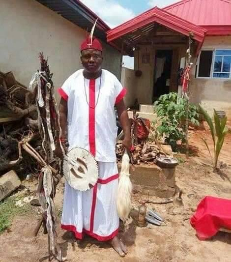 Drama As Pastor's Wife Is Impregnated By Native Doctor (Photo)