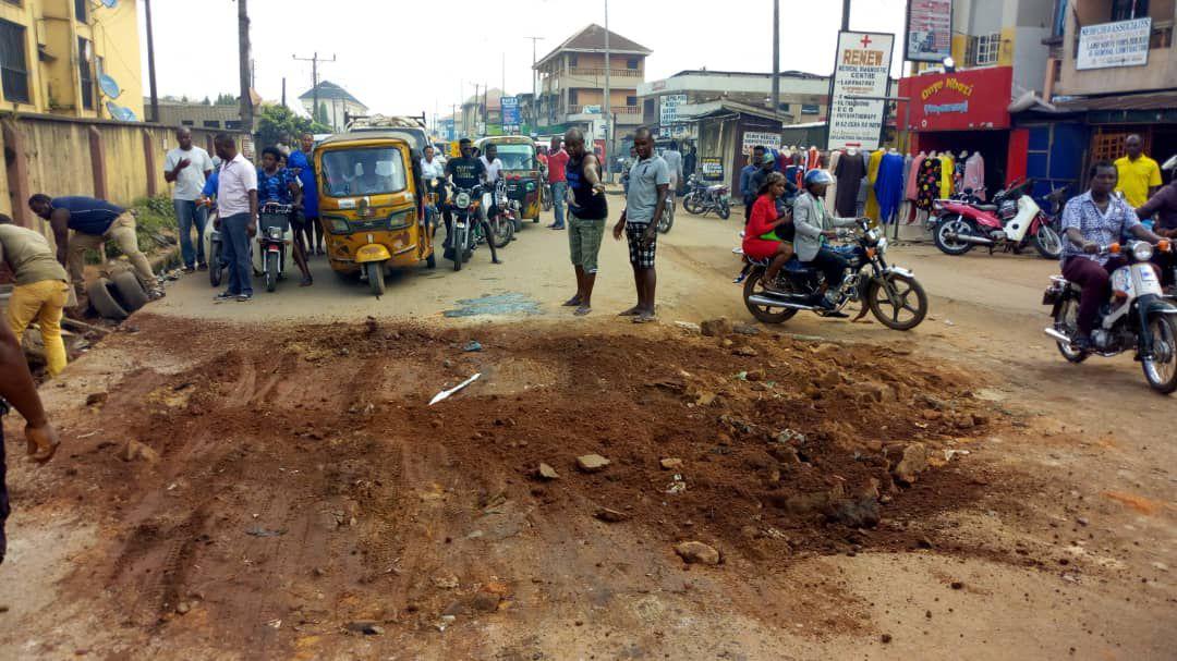 maintenance of nnewi roads ibeto junction nnewi maintenance of nnewi nnewi youths ibeto junction