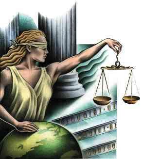 Temis representa a la Justicia Celestial.