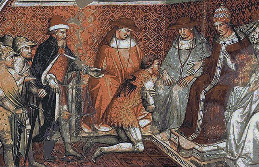 Anagni Excelsa - Scomunica Barbarossa