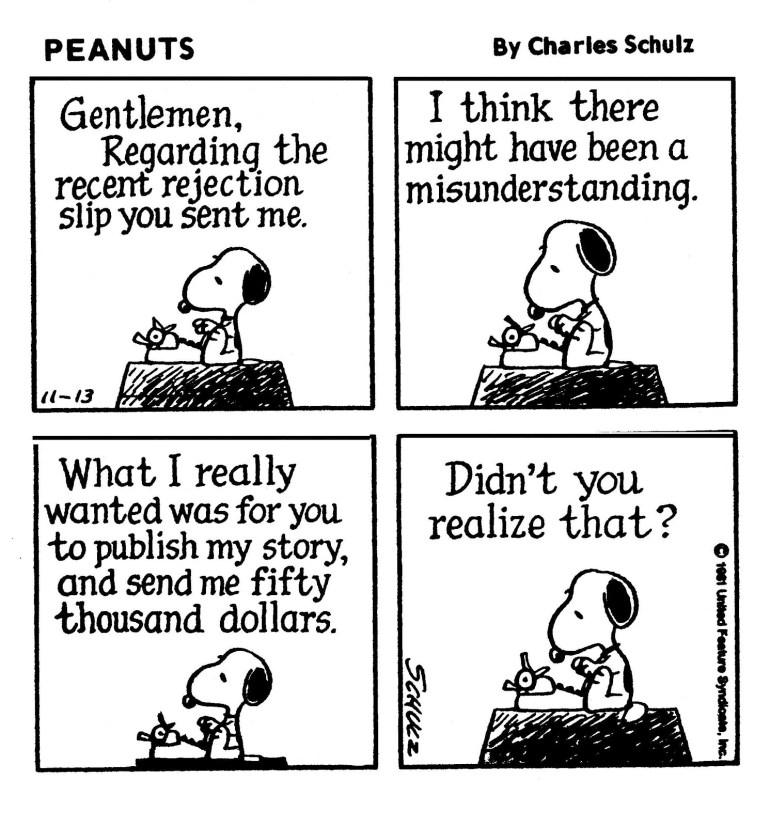 Snoopy rejection2