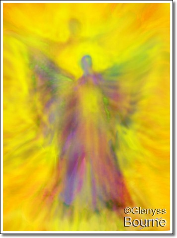Angel of Transcendence painting