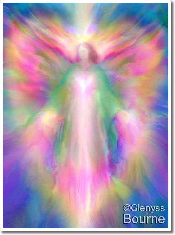 Angel of Divine Light by Glenyss Bourne