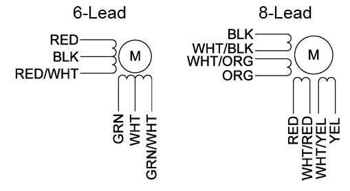 23YWiring(675x271) 6 and 8 lead?resize=509%2C278 bodine electric motor wiring diagram the best wiring diagram 2017 bodine electric motor wiring diagram at fashall.co