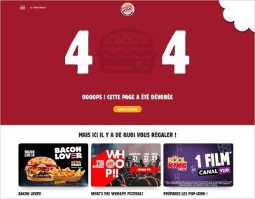 Page 404 Burger King