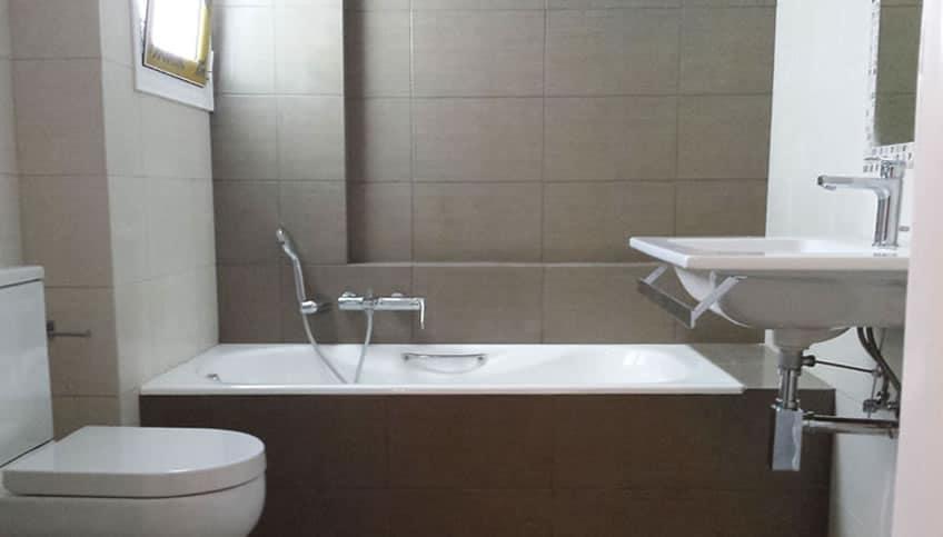Ανακαίνιση Μπάνιου στην Κυψέλη