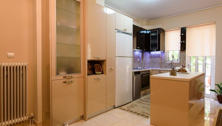 Ανακαίνιση Κουζίνας σε Διαμέρισμα στην Κυψέλη