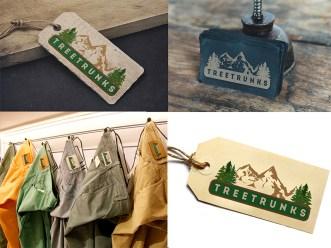 treetrunks label