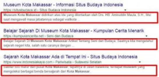 contoh tulisan seo friendly