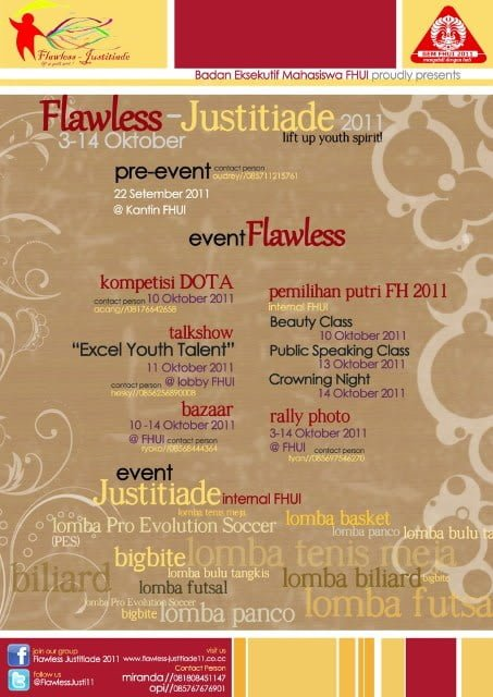 Poster Flawless Justitiade