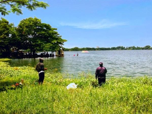 Air Terjun Lembah Bongok, Tuban. (Sumber: Suaragresik)