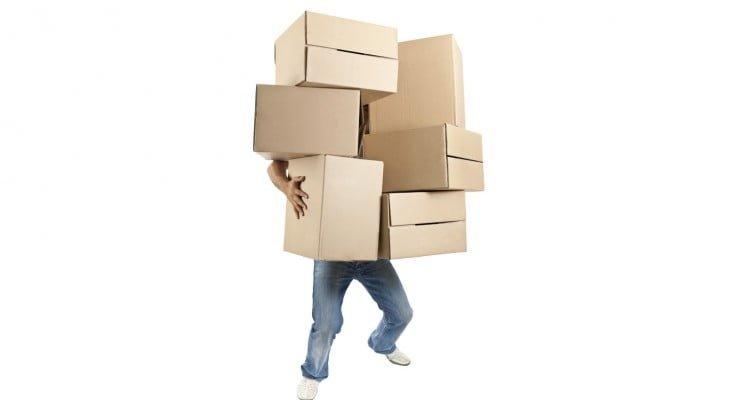 Pusing packing barang