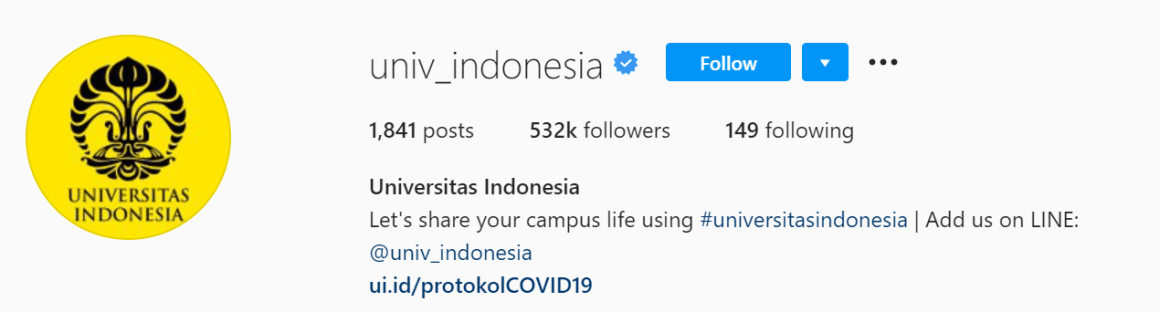 instagram resmi ui