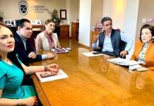 Reunion con alcaldesa Mexicali