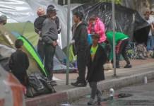 enfermedades, campamento, migrantes, salud