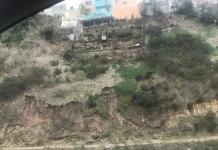 Derrumbes, Hacienda Lindavista, Invasión