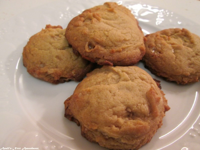 single serving toffee bits cookies