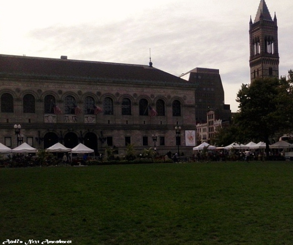 Boston Public Library Copley Farmers Market