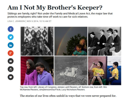 Am I Not My Brother's Keeper