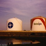 Throwback Thursday: Boston Gas Tanks (1991) #tbt #CoritaKent