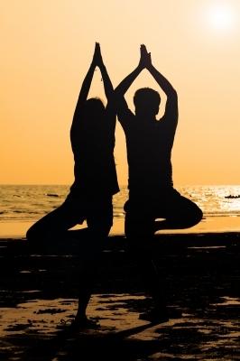 duo yoga pose